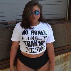 << No Honey Plus Size Tee >>
