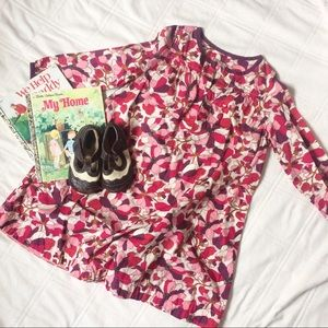 Pink Chicken Other - PINK CHICKEN PINK FLORAL LONGSLEEVE DRESS SIZE 8YR