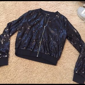 Forever21 sequence bomber jacket