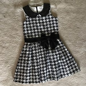 Children's Place Other - Children's Place houndstooth dress Girls-size 14