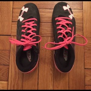 Under Armour Other - Girls Under Armour Cleats