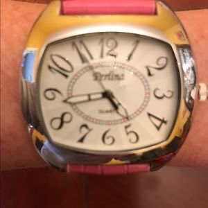 Perlina Accessories - BE BOLD!  Trending square face Watch Leather Band