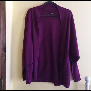NWT Purple Cardigan