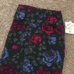 Roses  Printed Cassie Skirt