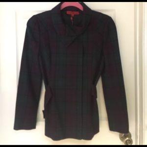 Vivienne Tam Jackets & Blazers - Vivienne Tam Fall Plaid Jacket