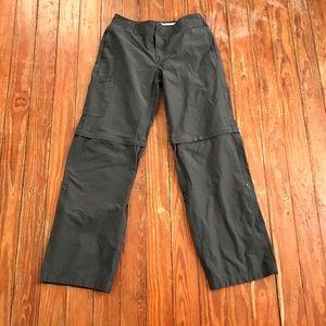 Danskin Now Pants - 🎀Danskin Gray Cargo Pants-Capris-Shorts sz M🎀