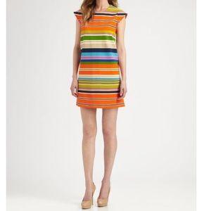 Kate Spade Multi Colored Stripe Dress
