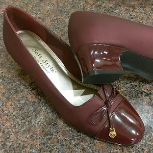 Hush Puppies Shoes - Merlot ~Soft Style