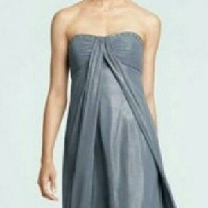 David's Bridal Dresses & Skirts - Beautiful gray sparkly gown