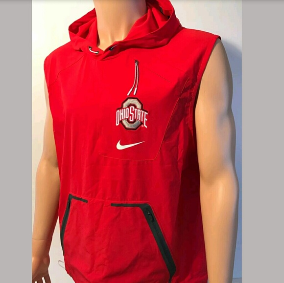 41694db23a08 Nike Ohio State Buckeyes OSU Alpha Fly Rush Vest