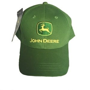 John Deere Accessories - John Deere baseball hat - NWT!!