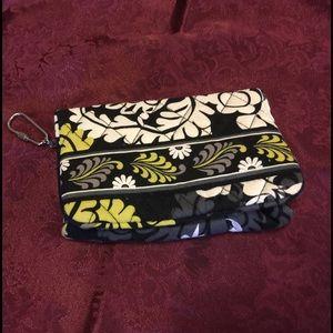 Vera Bradley Handbags - Vera Bradley Wallet - Lime, Black, White