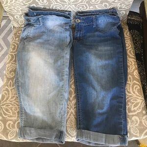 Soundgirl Pants - Bundle sound girl size 11 Jean shorts light medium