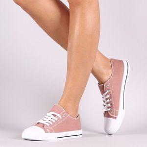 Lulupie Shoes - 🌸SPRING SALE🌸Mauve Canvas Sneakers