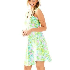 Lilly Pulitzer Dresses & Skirts - Lilly Pulitzer Dahlia Dress, Multi Coconut Jungle