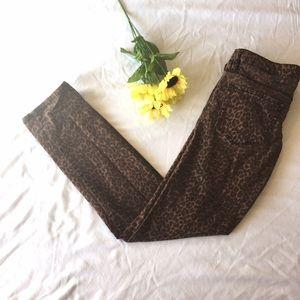 Bullhead Denim - Bullhead Leopard Print Jeans Size 11