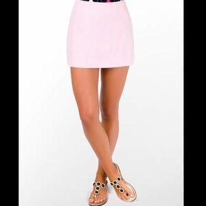 Lilly seersucker pink skirt