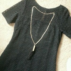 Mall at Short Hills Jewelry - Black Tassel Neclace