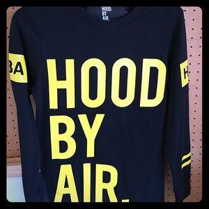Hood by Air Tops - Hood By Air - Long Sleeve Tee
