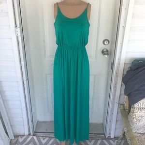 Lush Dresses & Skirts - Lush medium kelly green blousy maxi dress