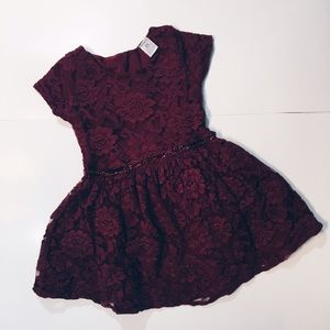Carter's Other - Burgundy Dress