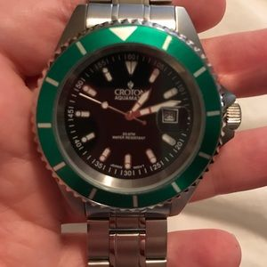 Croton Other - CROTON CA301159 AQUAMATIC DIVER WATCH