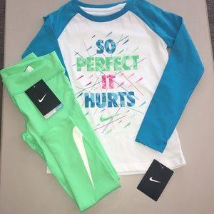 Nike Other - Girls NIKE NWT size 6X Dri Fit