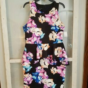 Metaphor Dresses & Skirts - PRICE DROP!! 👗👗👗👗👗Sexy Floral Peplum Dress