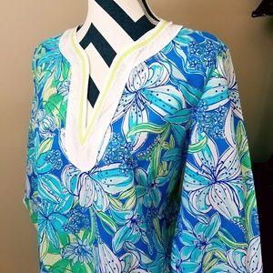 Lilly Pulitzer Sarasota Tunic beach cover-up