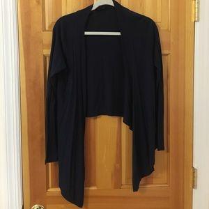 Navy cotton sweater