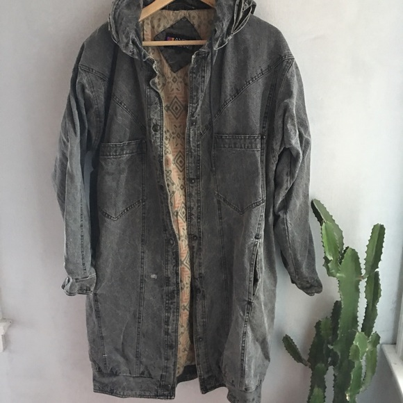 Andy Johns Oversized Jean Jacket