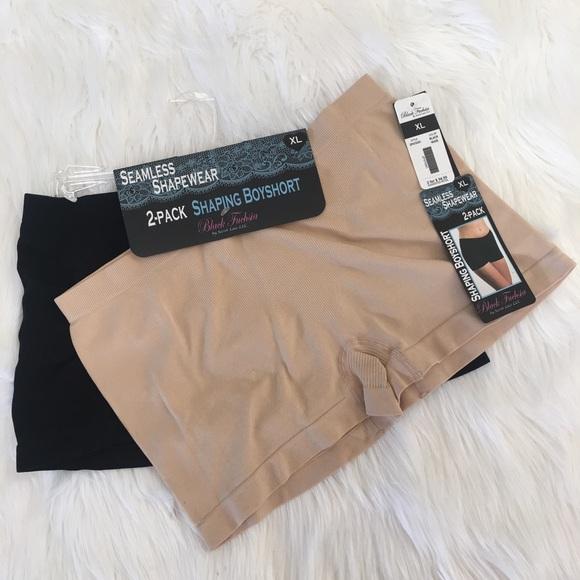 afa0a5de3cf64 2 pack shaping boyshort seamless shapewear brief