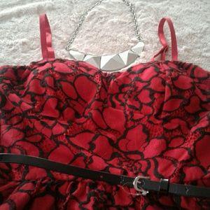 Lily Rose Dresses & Skirts - Red/black dress