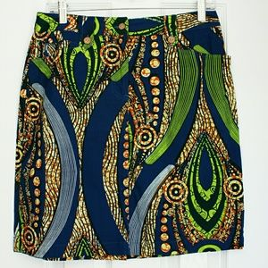 🐸J.McLaughlin🐸Colorful pencil skirt