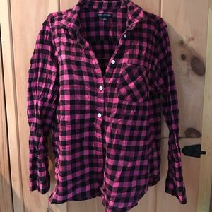 American Eagle Outfitters flannel shirt Lg