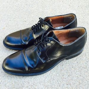 Stafford Other - Stafford Men's Dress Shoes Black Leather Cap Toe