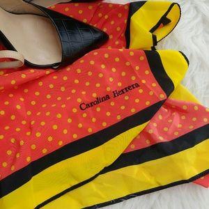 Carolina Herrera Accessories - Carolina Herrera retro polka dot scarf