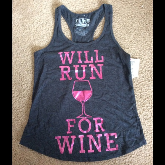 Chin Up Tops - NWT Workout Racerback Top☀️