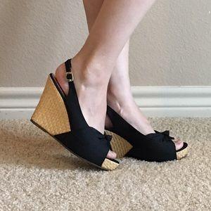 Steve Madden Wedge Espadrilles Sandals Size 6