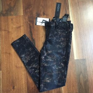 Liverpool Jeans Company Denim - Liverpool Black and Copper Jeggings SIZE 2/26 NWT