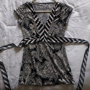 Tops - Fun Patterned Blouse