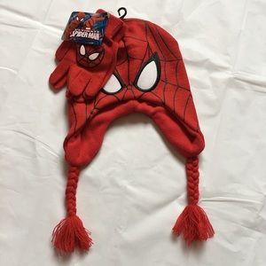 Marvel Other - BRAND NEW Boys Spider-Man Hat & Gloves Set