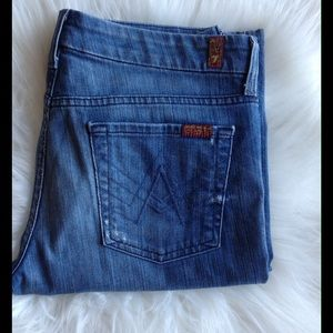 7 For All Mankind Denim - 7 For All Mankind Lexie Jeans 30x30 A Pocket
