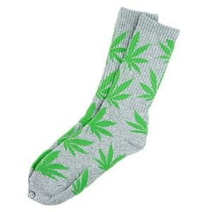 HUF Accessories - Huf Grey and Green Socks