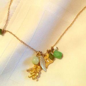 David Aubrey GEMINI Horoscope Necklace Gold Charms