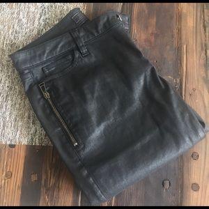 Belstaff Denim - Balstaff coated cotton ankle jeans