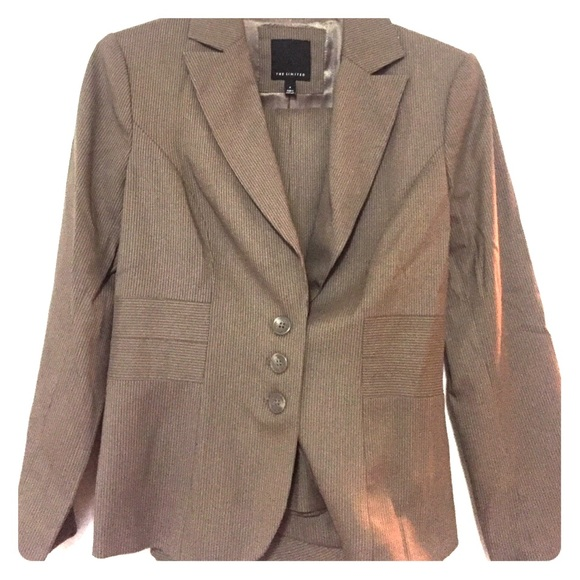 outlet online cheaper new authentic The Limited Other | Brown Pinstripe Suit | Poshmark
