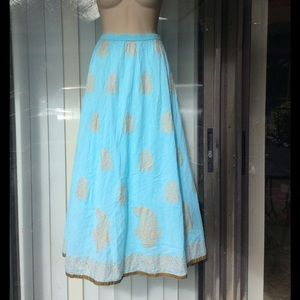 soft surroundings Dresses & Skirts - Soft surroundings cotton maxi skirt nwot