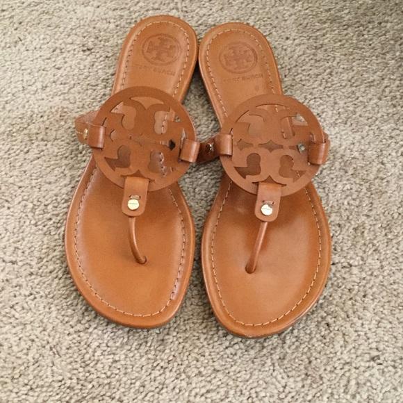 629f23cf9 Tory Burch Shoes - Tory Burch Miller REVA sandals flip flops Sz 9