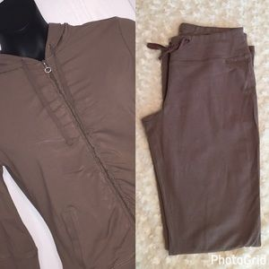 Taupe Jogging Suit